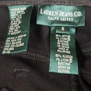 Ralph Lauren Jeans - Ralph Lauren Black Straight  Leg Jeans Size 6